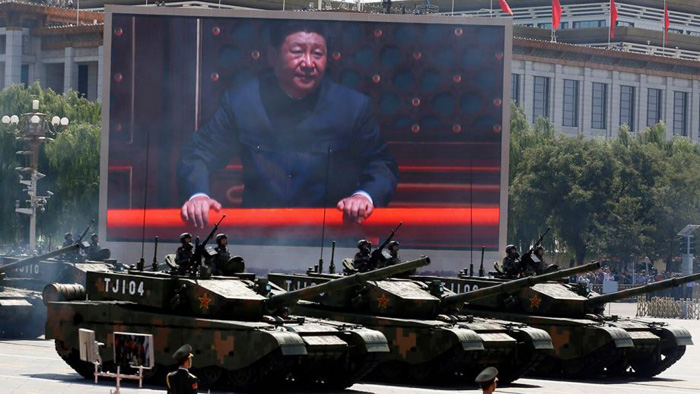 Chinese military calls US 'destroyer of world peace' following critical DOD report