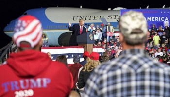 Secret Service involved in arrest of 2 in Virginia allegedly carrying backpack with gun and ammo near Trump rally