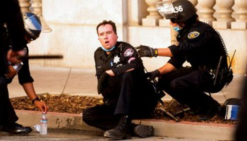 Free speech rally marred by violence as counterprotesters storm event, beat pro-Trump demonstrators