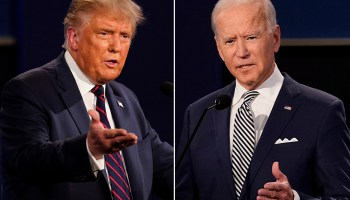 Suburban mom on why she's backing Trump Biden can't even say the words 'law and order'