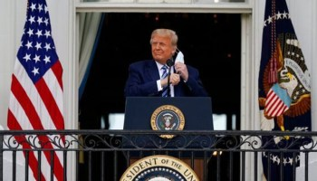 Trump warns US will be 'socialist nation' if Dems win, in first event since return to White House