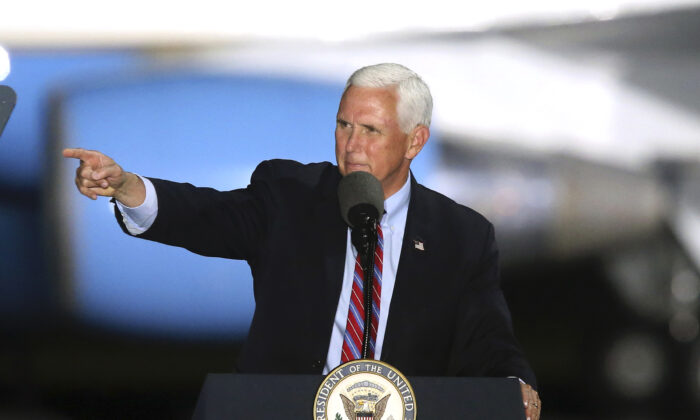 Pence: Election Isn't Over Until Every 'Legal Vote Is Counted'