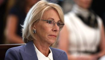Betsy DeVos on 1619 Project: Revisionist History Indoctrinating Young American Minds