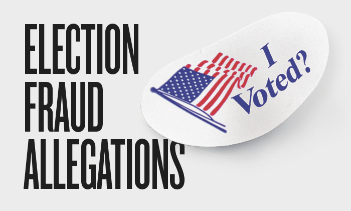 Election Fraud Allegations: Infographic