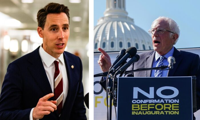 Sanders, Hawley Push for Vote on Second Round of Stimulus Checks