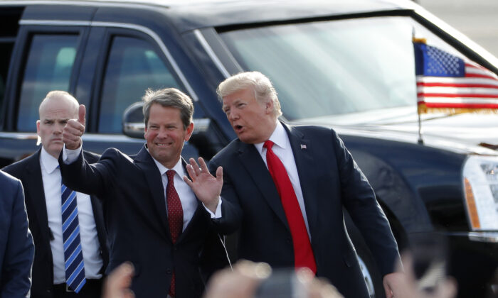 Trump: Georgia Gov. Brian Kemp Should Resign From Office