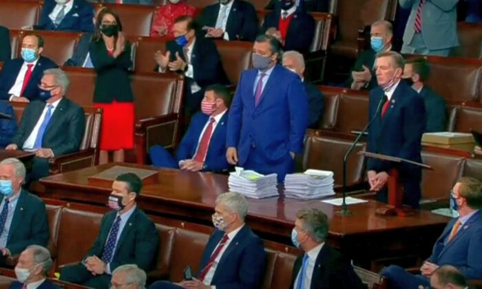 Arizona's 11 Electoral Votes Challenged by GOP Senator, Reps During Joint Session