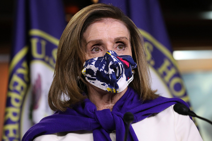 U.S. House of Representatives voted 216-209 to re-elect Rep. Nancy Pelosi (D-Calif) as the speaker on Jan. 3 to lead the chamber's narrowest majority in two decades.
