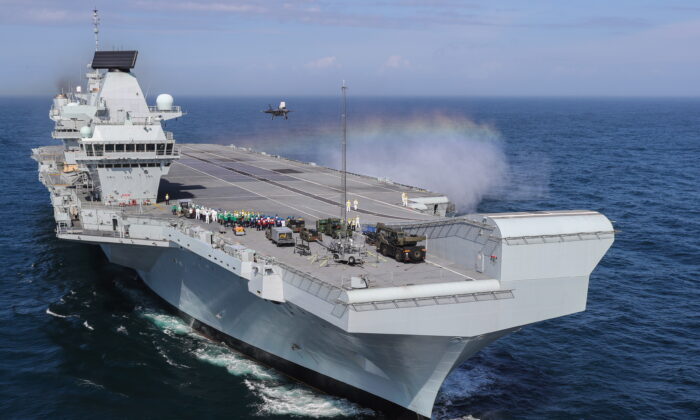 Australia to Join UK-Led Carrier Strike Group With US, Japan, Dutch Navies