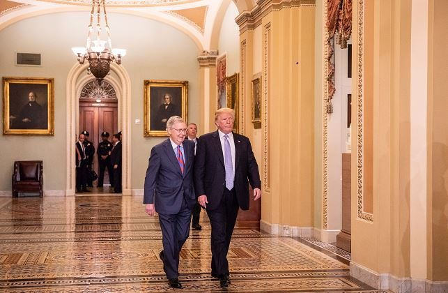 Kentucky County Demands Mitch McConnell Resign as Republican Senate Leader