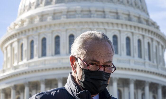 Senate Democrats Approve Budget Resolution, All Republicans Vote No