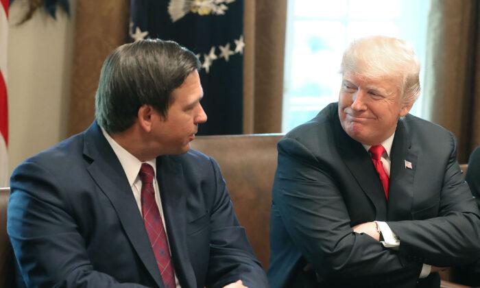 Trump Floats 2024 Presidential Run Again, Says DeSantis Could Be Potential Running Mate