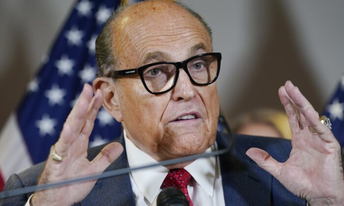 Misinformation Lingers After Incorrect Reporting About Giuliani, FBI