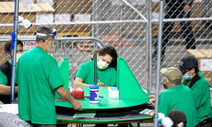 Auditors Finish Counting Ballots in Arizona's Maricopa County