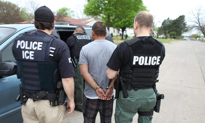 Judge Blocks Biden Administration From Curtailing Arrests of Illegal Immigrants