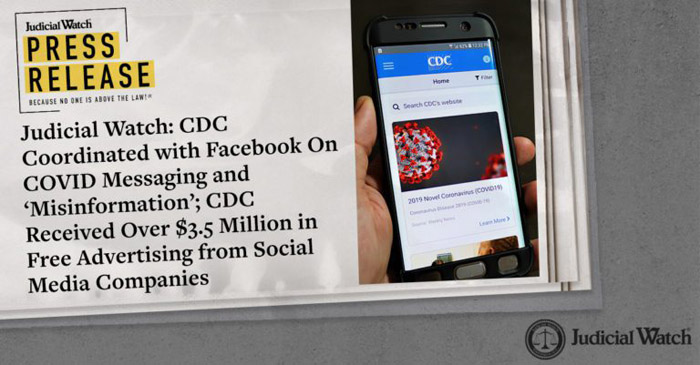 The Redacted Fauci Email, The CDC's Coordination with Facebook On COVID Messaging and 'Misinformation'
