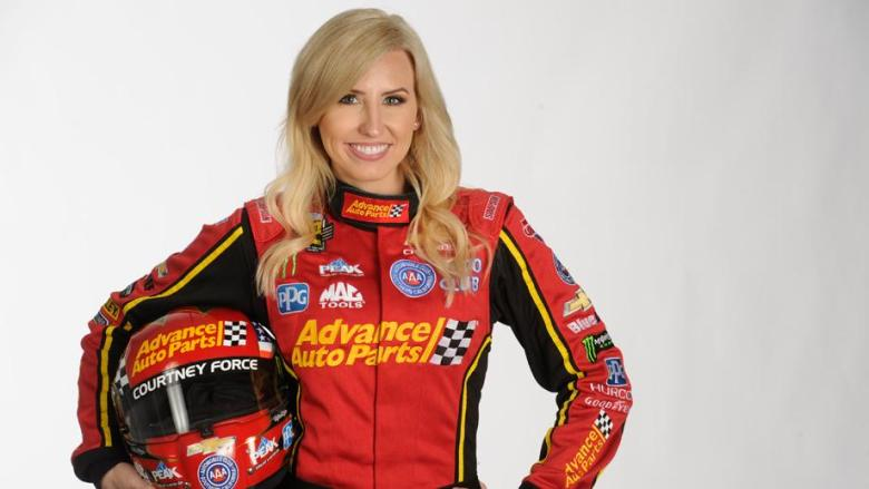 Courtney Force to serve as Honorary Pace Car Driver for NASCAR's Advance Auto Parts Clash | NHRA