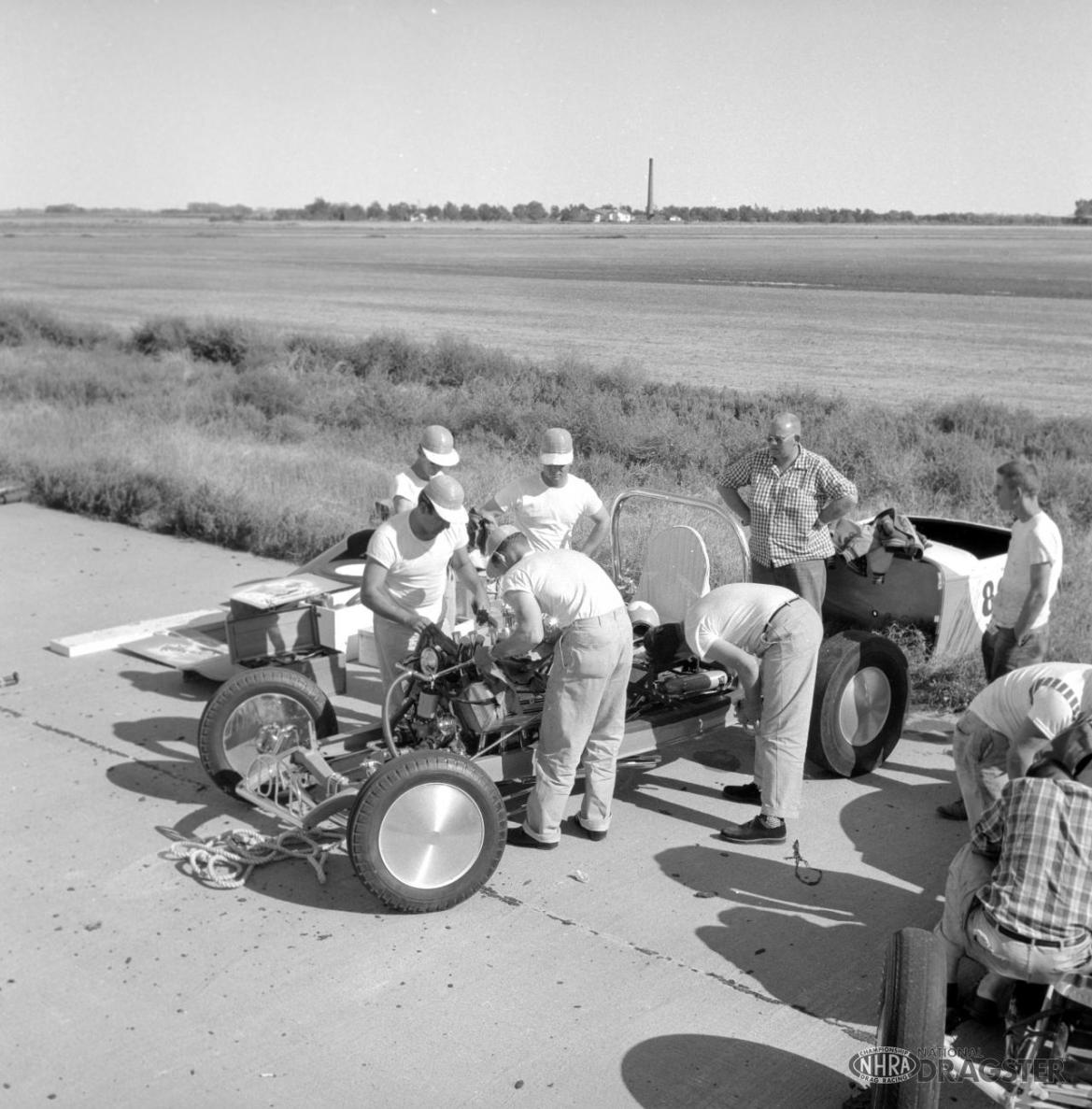 1955 NHRA Nationals—Great Bend, Kansas - slide 7