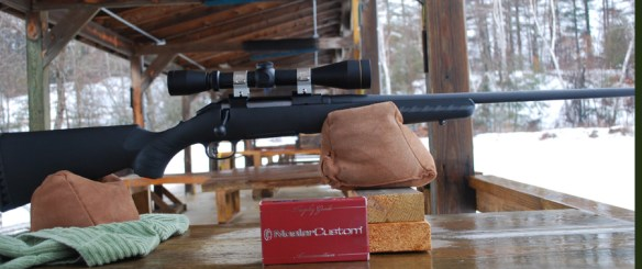 ruger american bench rested