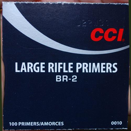 primers CCI BR2
