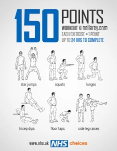 points workout also gym free workouts nhs rh
