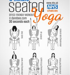 seated yoga workout [ 900 x 1273 Pixel ]