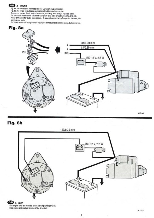 small resolution of 3 wire alternator wiring diagram 3 7 merc
