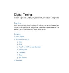 digital timing clock signals jitter hystereisis and eye diagrams [ 1112 x 1440 Pixel ]