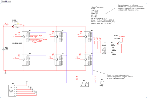 small resolution of 3 phase inverter design with thermal modeling and switching and conduction losses