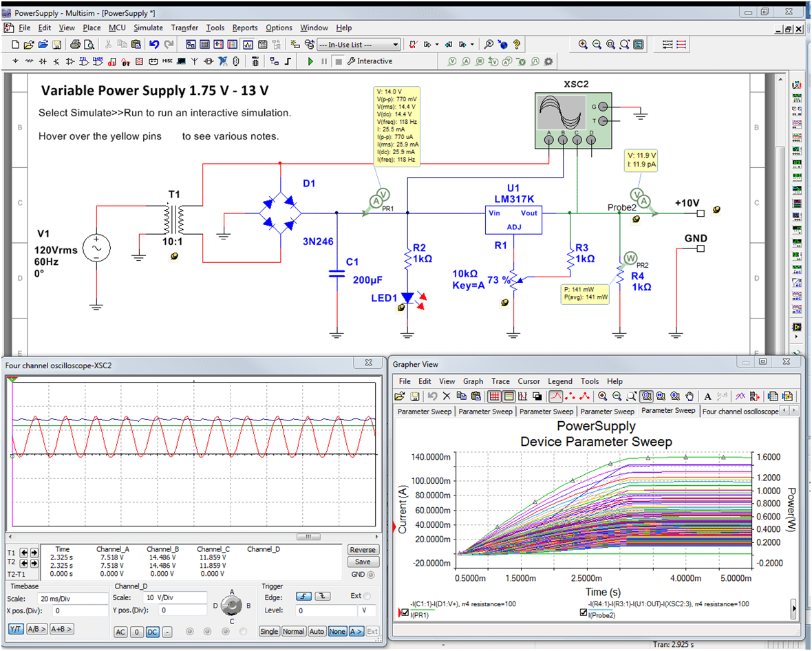 Accurately Evaluate Circuits With New Probes In Multisim
