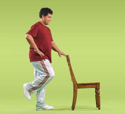 Ejercicios de equilibrio para adultos mayores
