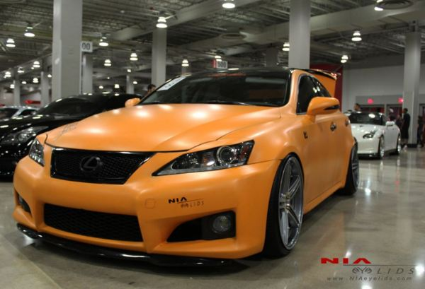 11-10 Lexus is f sport IS350 IS250 IS-F IS convertible eyelids 2011 2012 2013 angry is 4