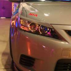 2011 2012 2013 scion tc nia eyelids 2