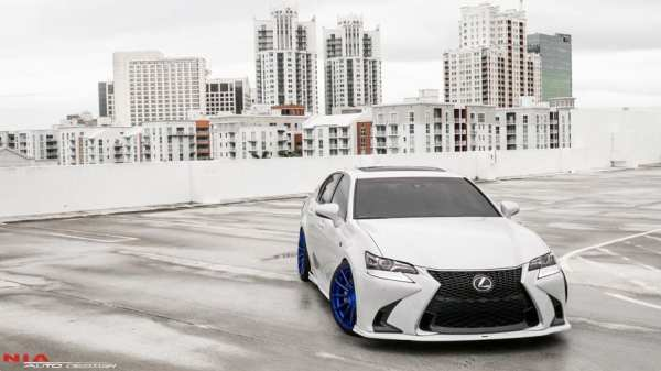 2016 2017 2018 Lexus GS Full Splitter Body Kit 2