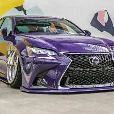 2016 2017 2018 Lexus GS Splitter Lip Body Kit