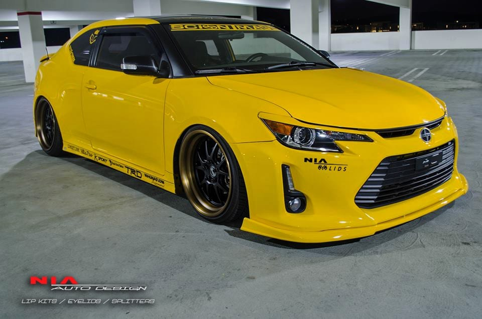 Scion Tc Nia Eyelids Painted 2014 16 Nia Auto Design Quality