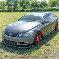 lexus gs 2006 splitter lip kit
