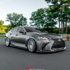 Lexus GS350 ground effects bumper extensions