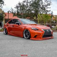 Lexus IS fsport bumper extension