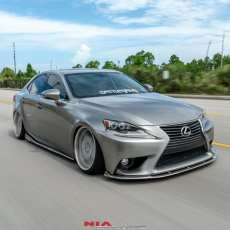 Lexus 3is ground effects bumper extension spoiler