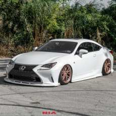 2015 2016 2017 2018 Lexus RC NIA Full Splitter Kit