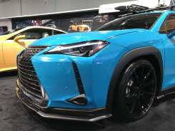 lexus ux 2019 2020 2021 2022 special edition nia auto design lipi kit body kit front splitter side skirts rear lip spats diffusers wing spoiler hybrid