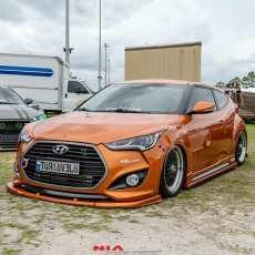 hyundai veloster front spoiler front lip front body kit front ground effects kit front lip splitter front bumper extension