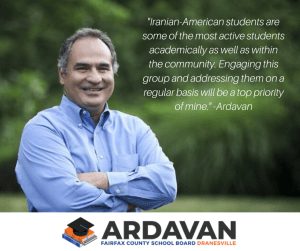 Ardavan Fairfax County School Board
