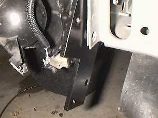 Install the winch mount brackets.