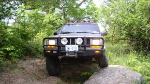Built 2000 Jeep Cherokee Sport