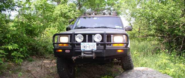 Built 2000 Jeep Cherokee Sport