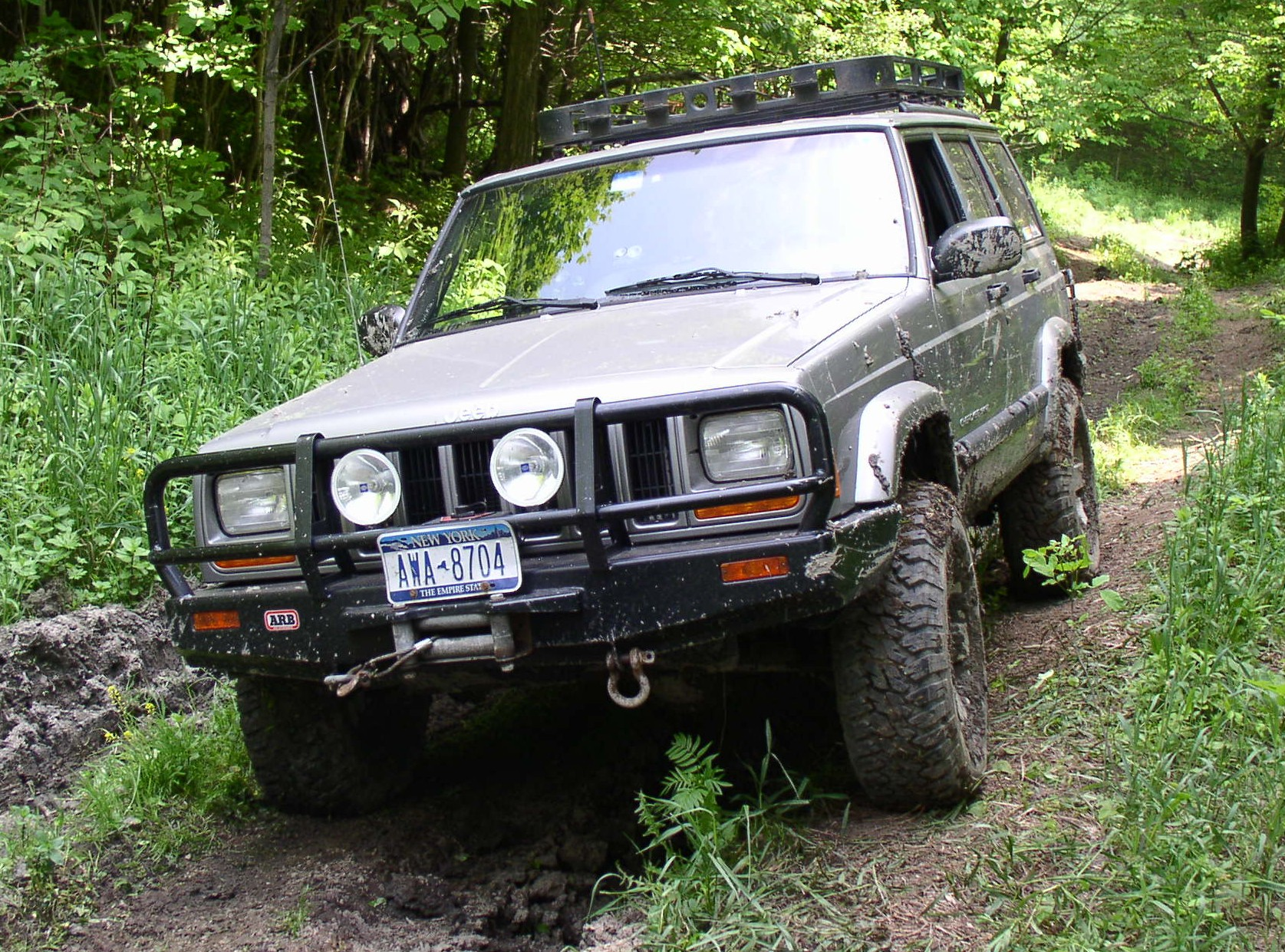 Project Cherokee with ARB Bull Bar.