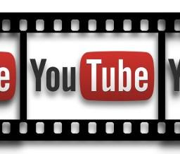 YouTube icon on film strip