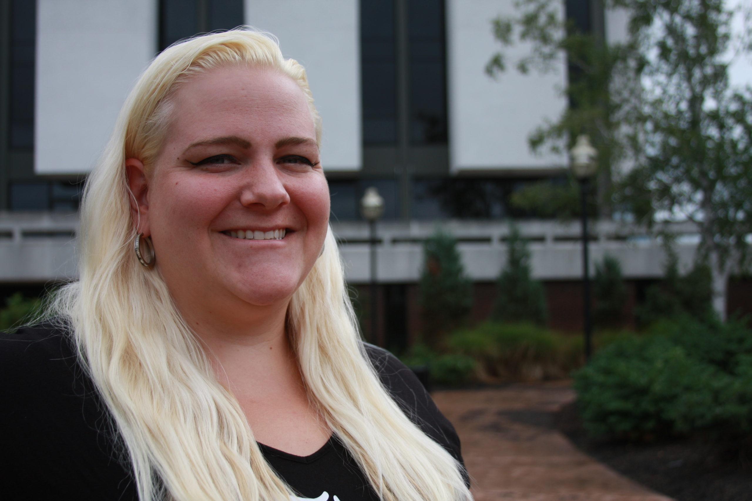 NCCC Student Alisha Rivers